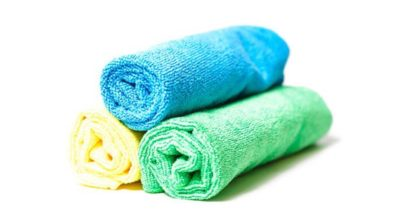 Microfiber cloths. Vesco oil is an automotive cloth and towel distributor in Michigan, Ohio and Pennsylvania